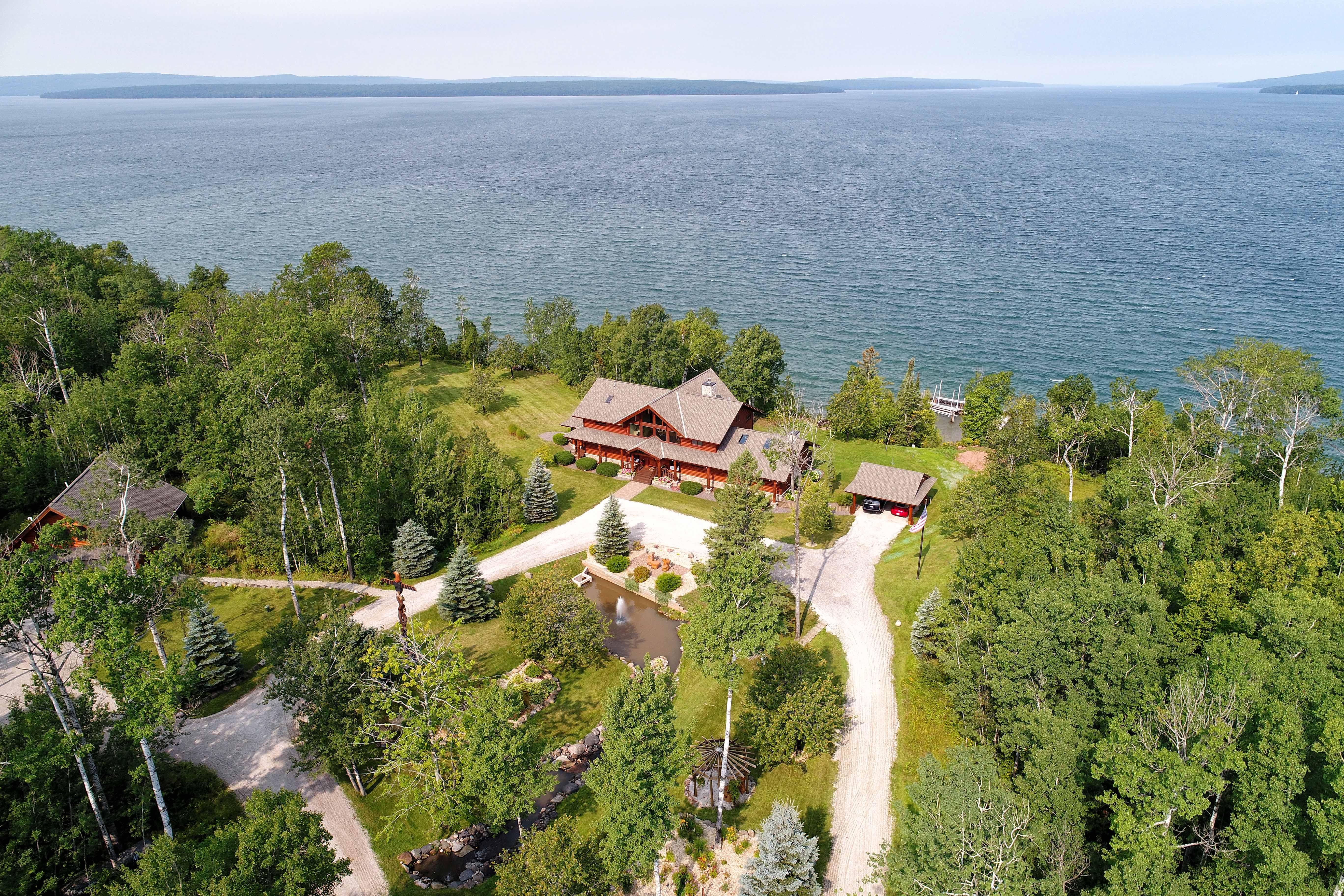 Madeline Island Aerial Photos