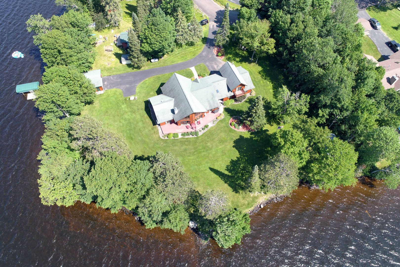 Lake Namakagon Aerial Drone Real Estate Photos